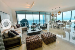 FOR SALE Fully-Furnished  | RENTED | Beautifully Remodeled | Amazing Ocean Views | 3-Bedroom Apartment For Sale and Rent at Grand Tower