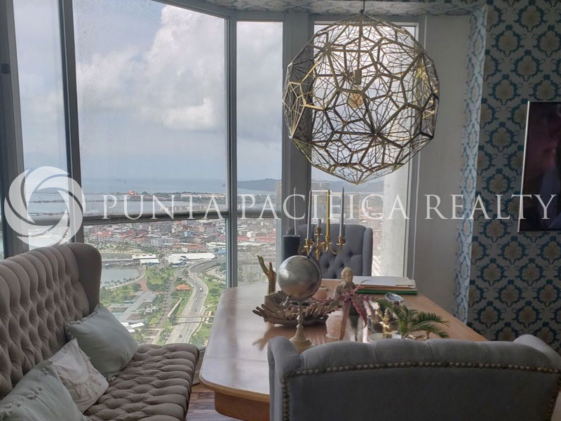 For SALE & RENT | Eclectic Decor | Above 40th Floor | Move-in-Ready | 2-Bedroom Apartment In Rivage. Only for direct clients.