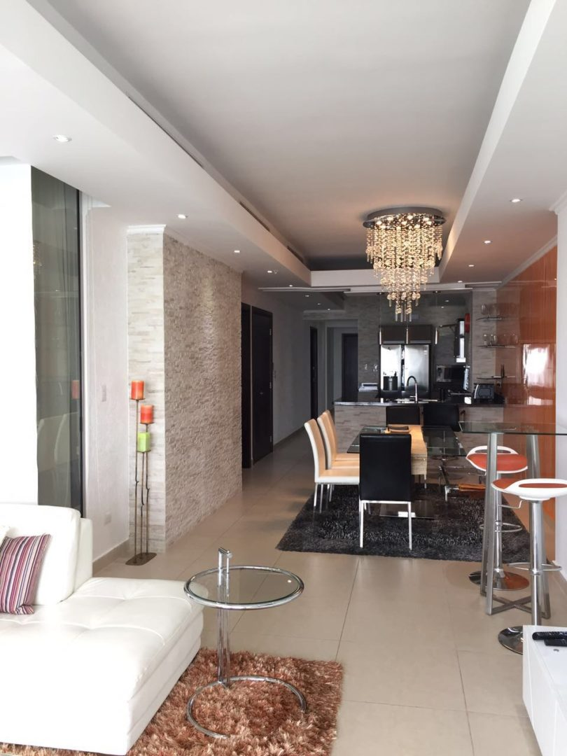 For SALE & RENT | Modern Furniture | Middle Floor | 2-Bedroom Apartment In Rivage Tower